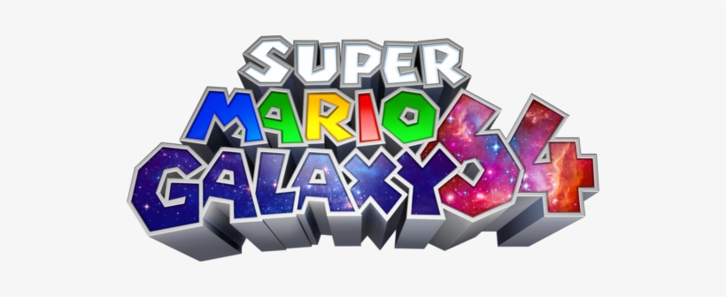 Super Mario Galaxy Super Mario 64 Ds Logo Transparent Png