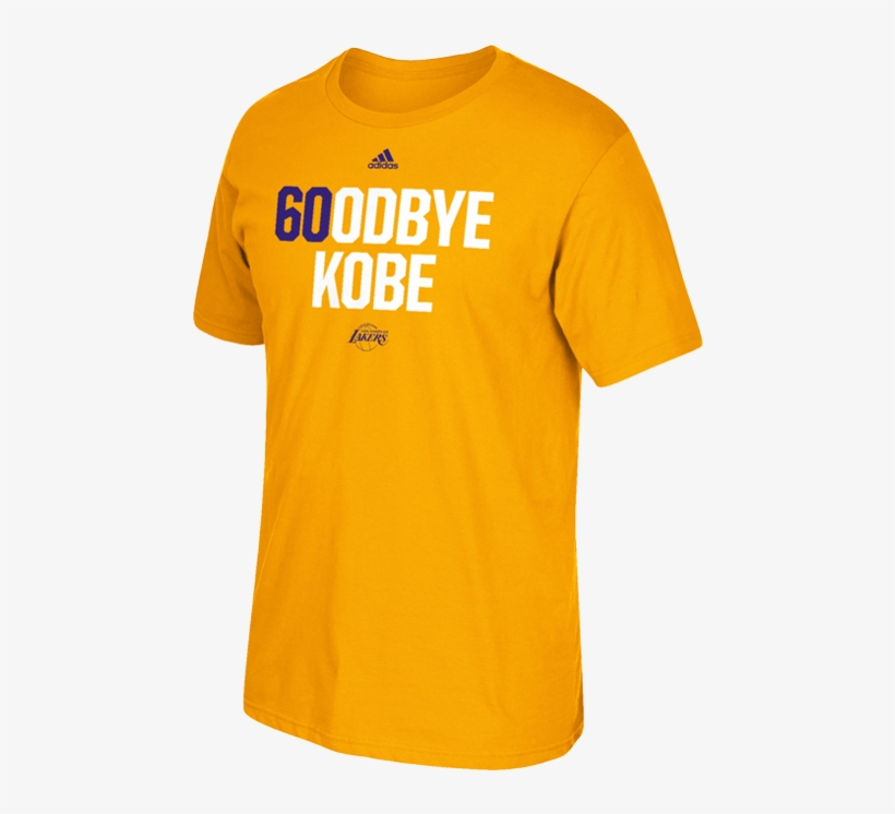 5b4d995aa45c Los Angeles Lakers Limited Edition Kobe Bryant Goodbye - Kobe Lakers T Shirt