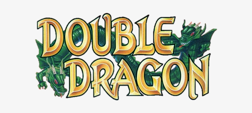 Double Dragon Logo Double Dragon Cartoon Logo Transparent Png