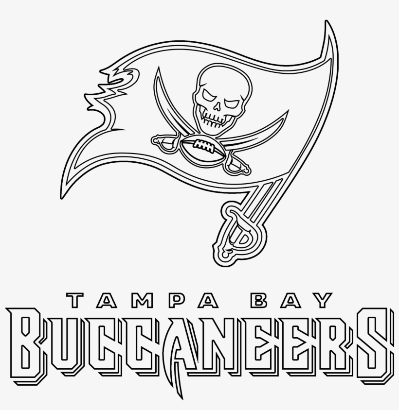 tampa bay buccaneers logo outline nfl transparent png 2400x2400 free download on nicepng tampa bay buccaneers logo outline nfl