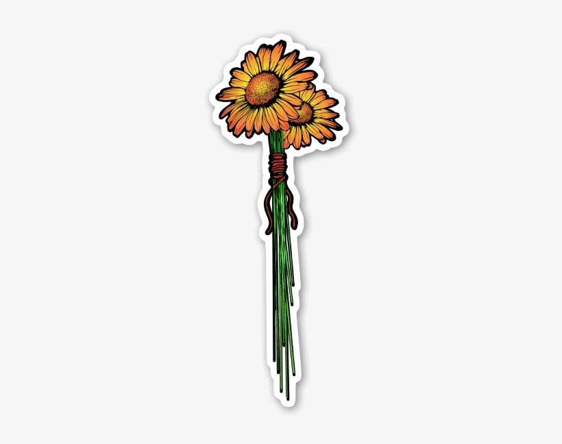 Girasoles Pegatina - Sunflower Transparent PNG - 258x600 - Free ...