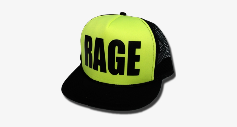 c6604d227 Rage Black Yellow - Yolo Hat Png Transparent PNG - 400x400 - Free ...
