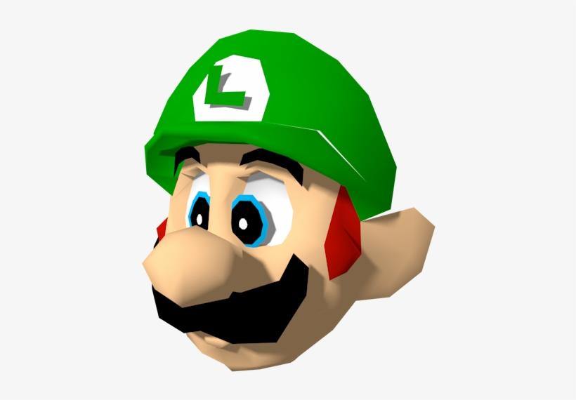 Super Mario Bros Anime Mario Party Luigi Model Transparent