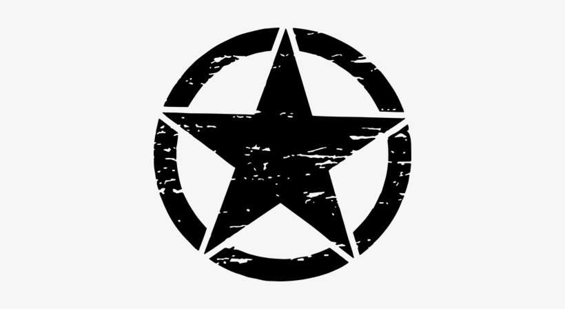 Military Star Wall Sticker - Star Army Transparent PNG