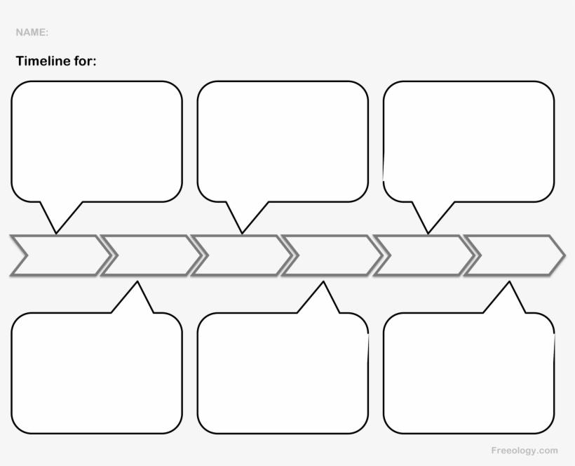 Blank Timeline | Transparent Timeline Blank Blank Timeline Template Transparent Png