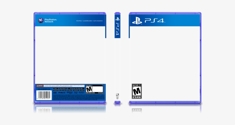 Playstation 4 Game Case Template Psd Transparent Png 700x392