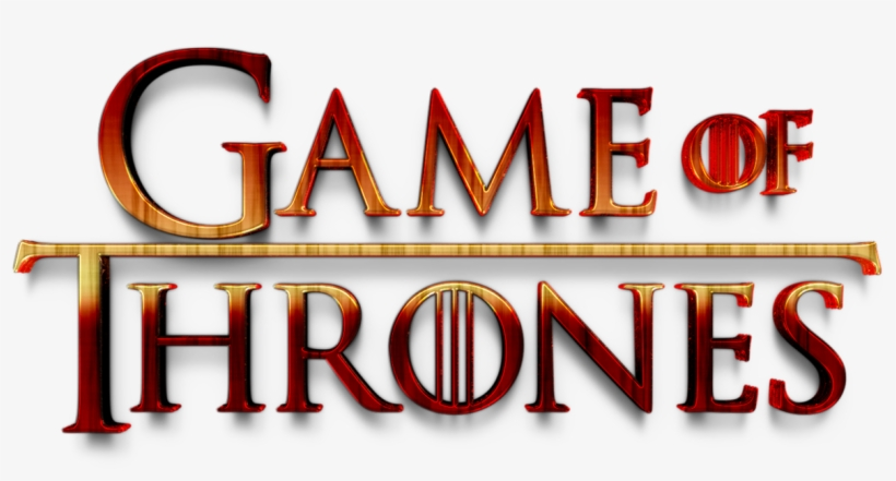 Game Of Thrones Logo Png Image Background - Graphic Design ...