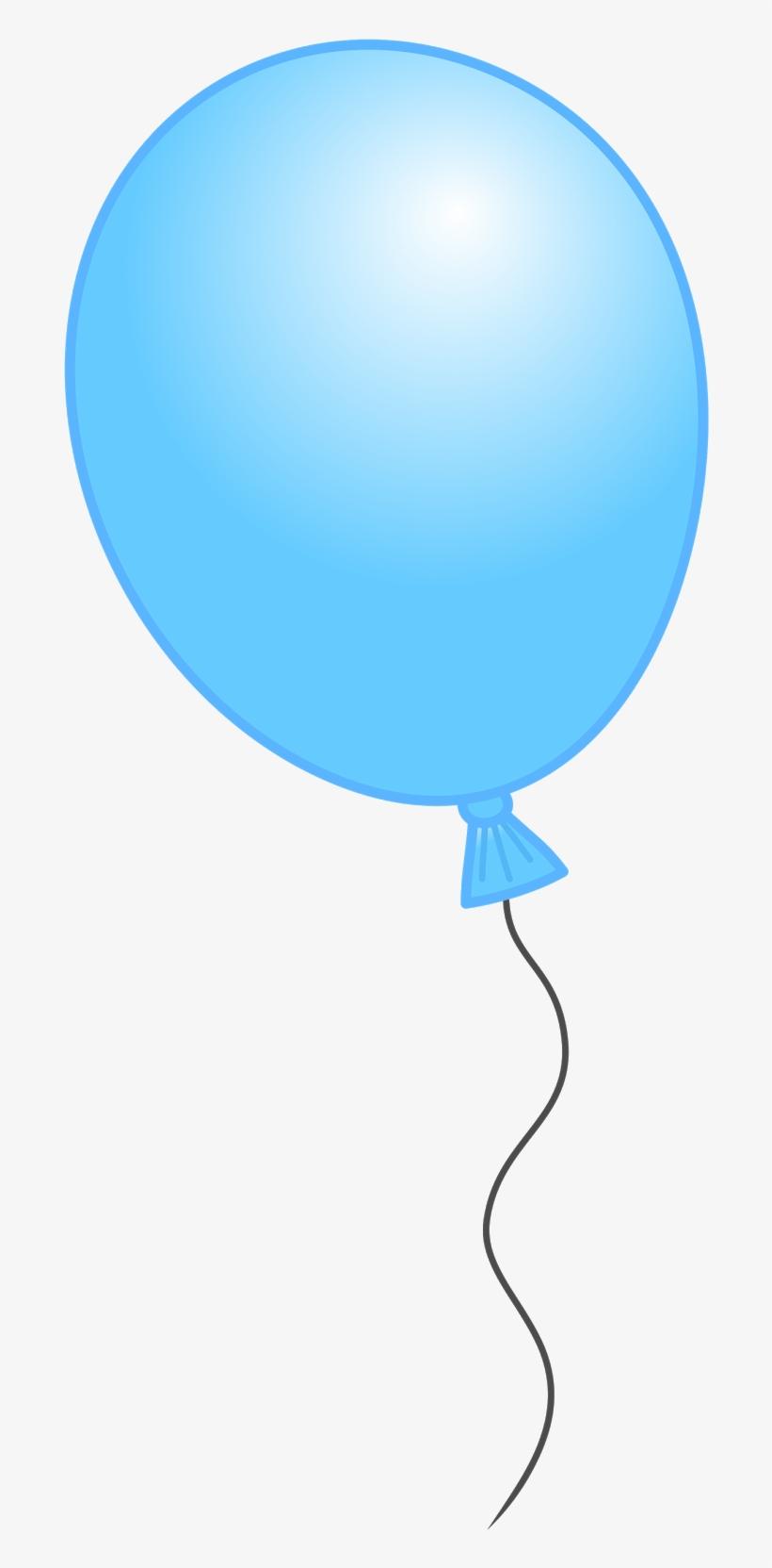 Ballon Clipart Individual Balloon Light Blue Balloon Clip Art Transparent Png 719x1600 Free Download On Nicepng
