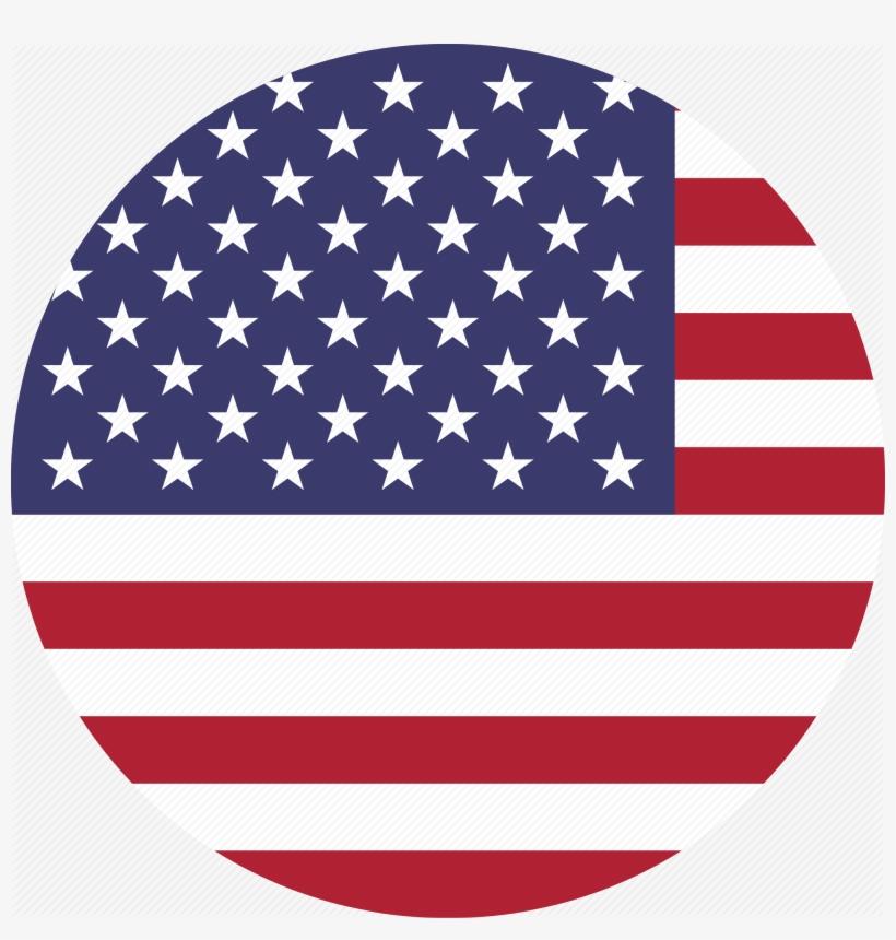 Image Of Usa Flag Waving, Gif, Png, Emoji - Us Flag Icon Png