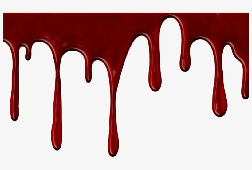 Realistic Dripping Blood Gif