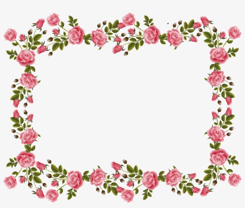 Rose Border Png Download Transparent Rose Border Png Images For
