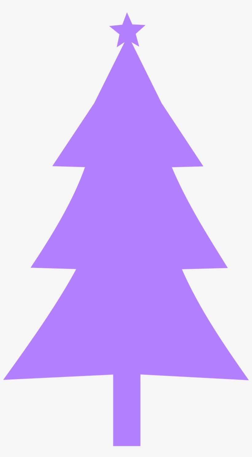 Purple christmas. Clipart tree silhouette clip