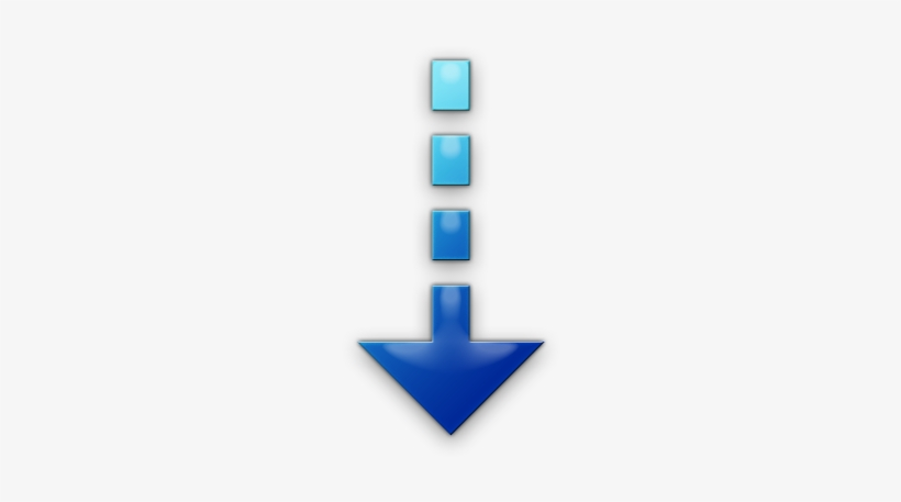 Down Arrow Icon - Blue Down Arrow Png Transparent PNG - 420x420 ...