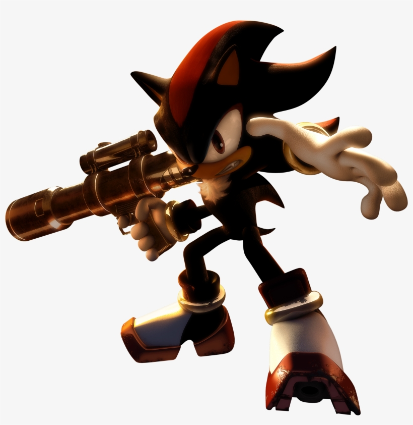 Shadow Packshot Shadow The Hedgehog Shadow Transparent Png 2942x2881 Free Download On Nicepng