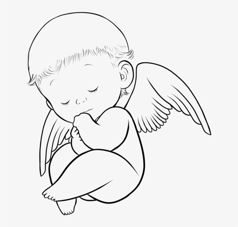 Babies Clipart Angel Wing
