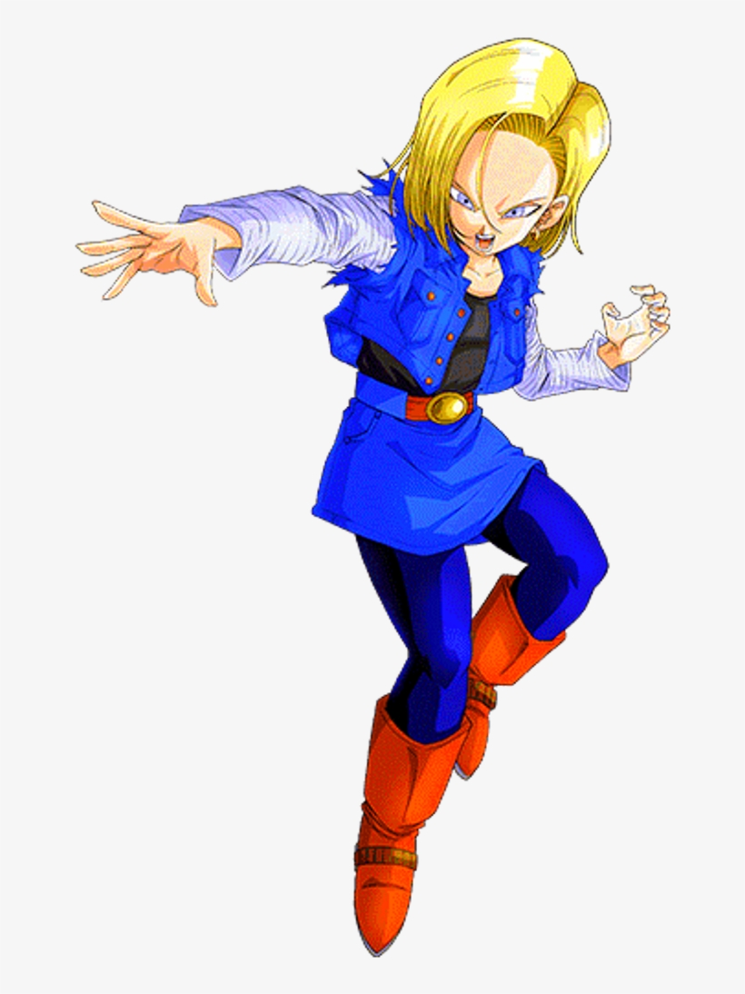 Android 18 Lazuli 3 By Alexelz Dragon Ball Z Android 18 Png