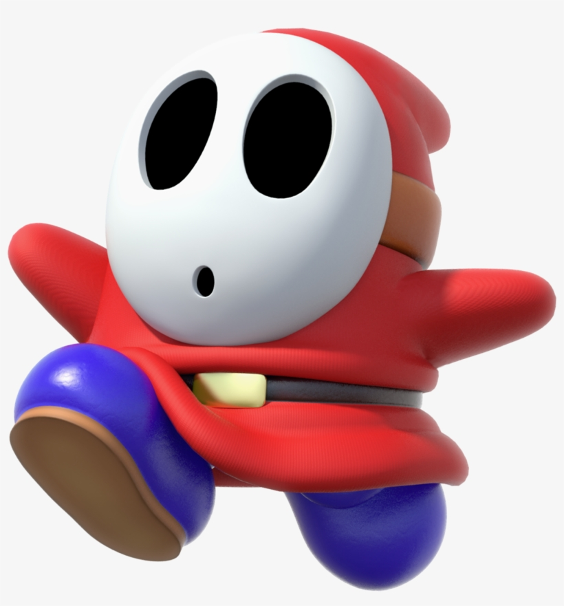 Image Source - Shy Guy Transparent PNG - 1400x1436 - Free