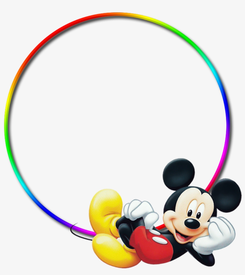 Mickey Baby Png Download Frame Mickey Mouse Png Transparent Png