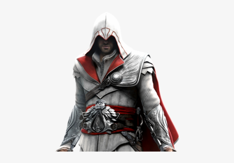 Images Ezio Auditore Assassins Creed Brotherhood Transparent Png 500x500 Free Download On Nicepng