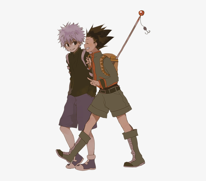 Killua Y Gon Gon And Killua Quote Transparent Png 500x644 Free Download On Nicepng