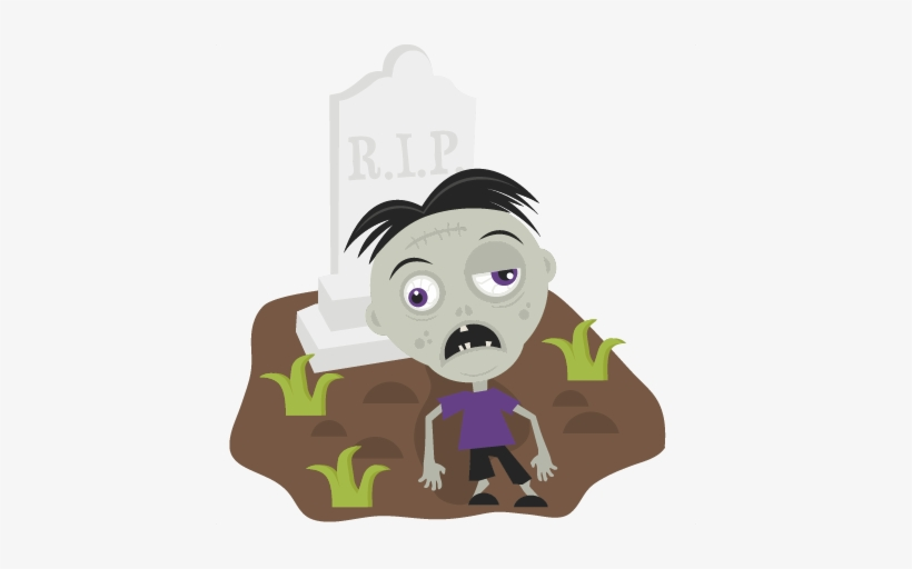 Zombie In Cemetery Svg Cutting Files For Scrapbooking Zombies Animated Svg Transparent Png 432x432 Free Download On Nicepng