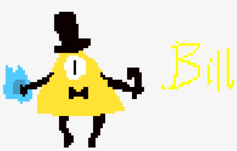 Bill Cipher Gravity Falls Sprite - Gravity Falls Transparent