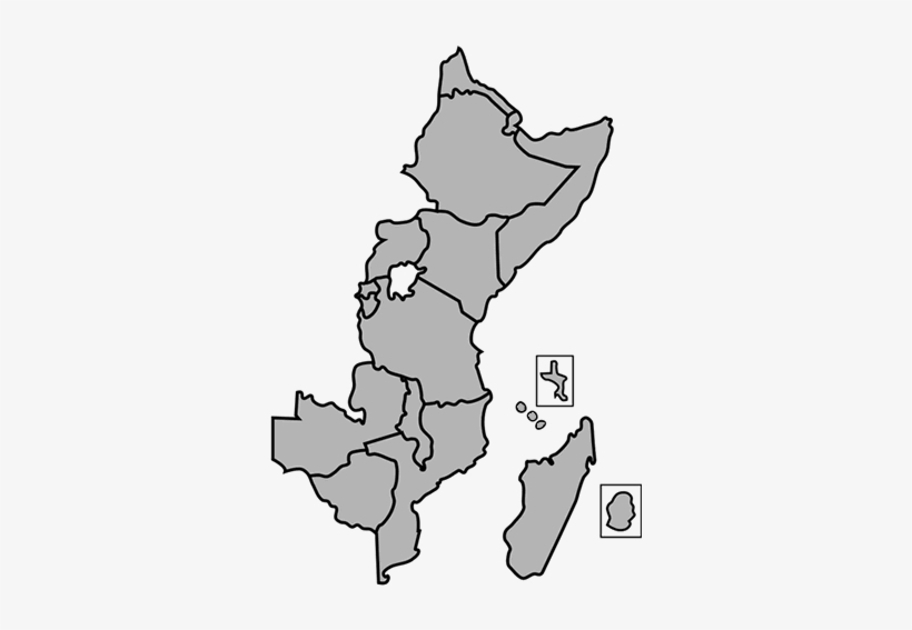 Blank Map Of Eastern Africa East Africa Map Outline Transparent PNG   350x500   Free Download