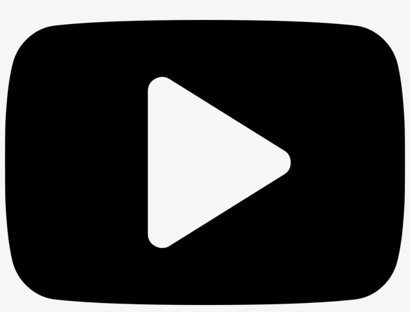Player Play Button Symbol - Play Youtube Preto Png