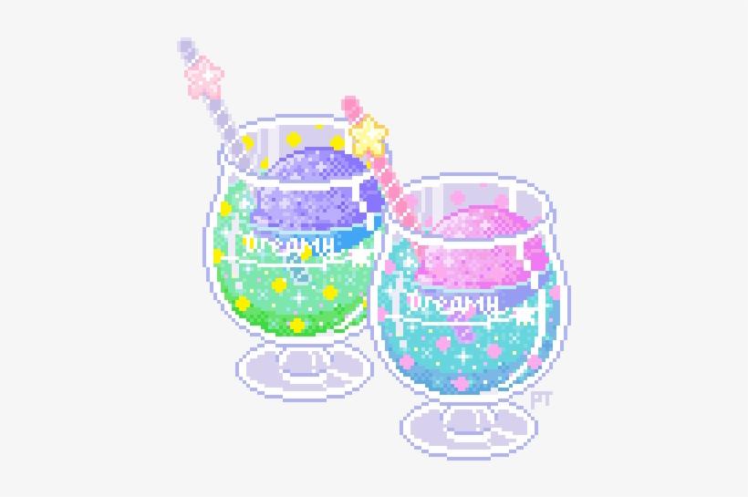 Pixels Drawing Kawaii Pixel Art Kawaii Transparent Png