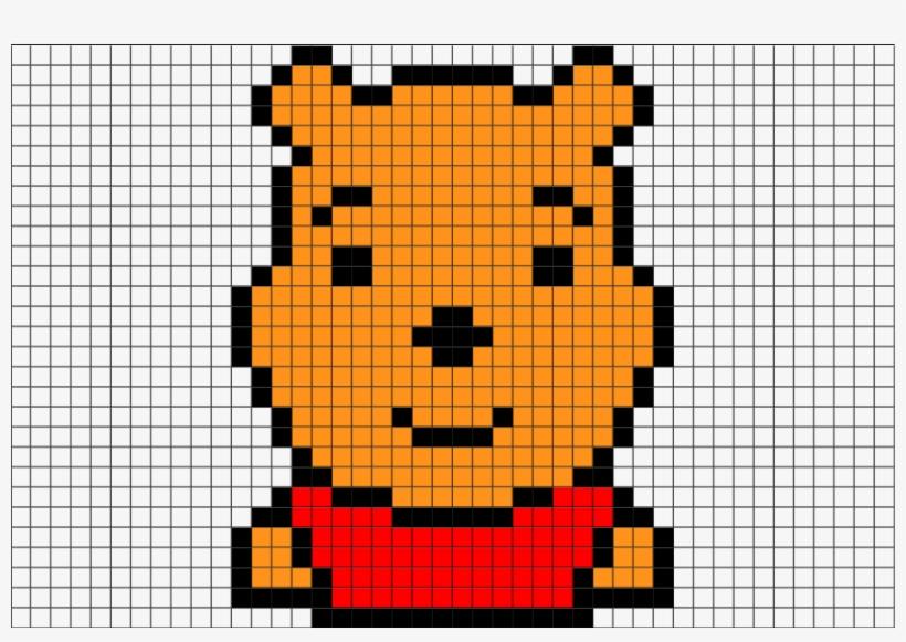 Pixel Art Winnie The Pooh