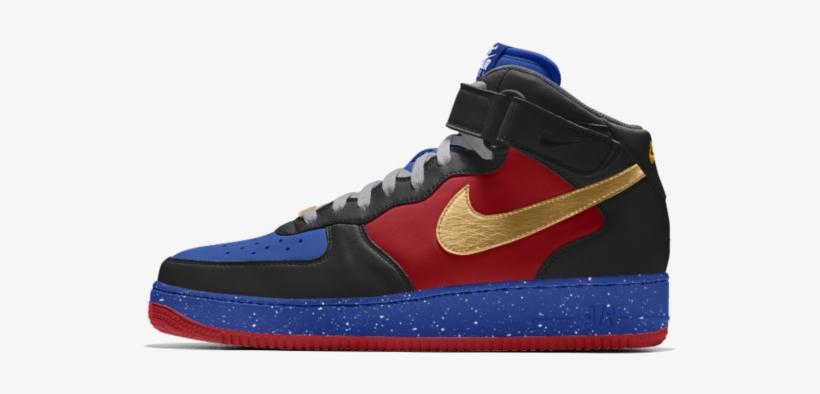 cama Expresión Mesa final  Nike Air Force 1 Mid Id Erkek Ayakkabısı - Sneakers Transparent PNG -  640x640 - Free Download on NicePNG