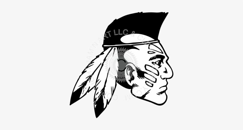 Draw A Mohawk Indian Transparent PNG