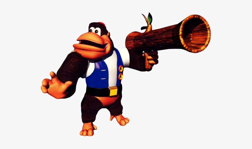 The Form Of Returning Animal Buddies And Forgotten Chunky Kong