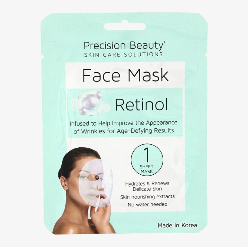 Precision Beauty 5 Pack Korean Facial Mask Retinol Precision