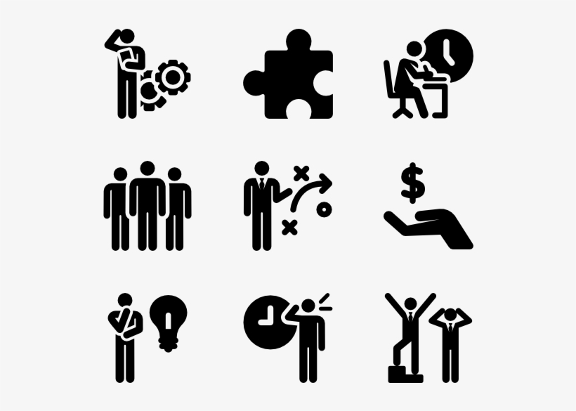 work productivity human pictograms - skills icon for cv transparent png - 600x564