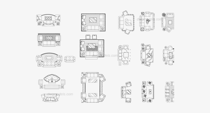Living Room Furniture Sets Dwg Cad Blocks Free Download Living Room Cad Block Transparent Png 540x380 Free Download On Nicepng