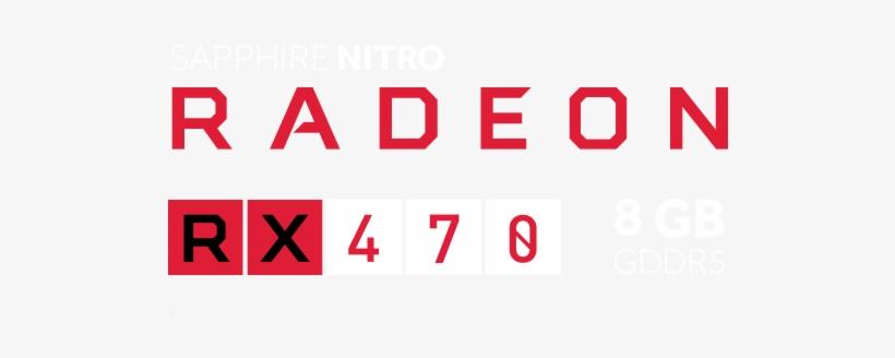 Sapphire Nitro Radeon Rx470 Amd Rx 480 Logo Transparent Png 557x253 Free Download On Nicepng