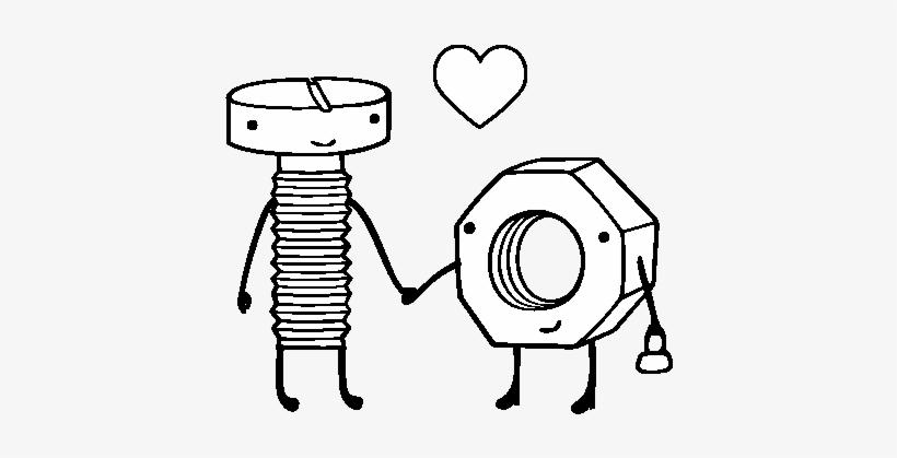 Tumblr Png Para Colorear Dibujos Para Cartas De Amor Transparent
