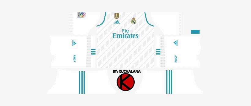 buy popular 64503 5a519 Real Madrid Kits 2017/2018 - Kits Real Madrid 2019 ...