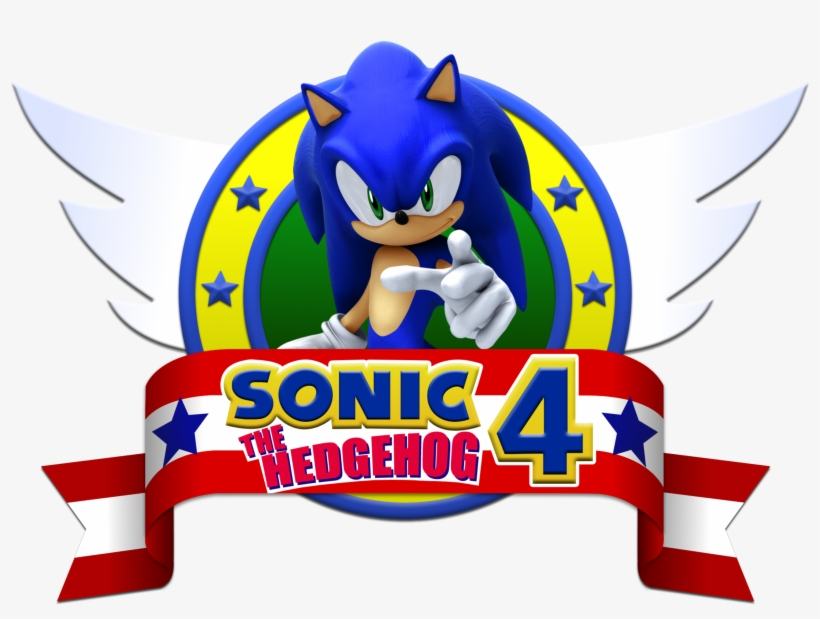 Sonic The Hedgehog Logo Png Sonic 4 Episode 1 Logo Transparent Png 3394x2617 Free Download On Nicepng