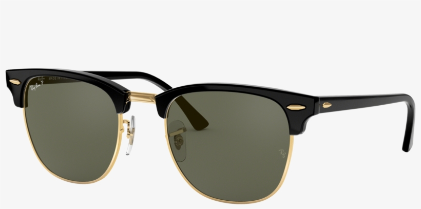 Out Of Stock Ray Ban Clubmaster Png Animated Ray Bans - Ray Ban Rb3016  Clubmaster 901 58 Polarized 5804ebe02ee