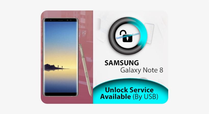 Galaxy Note 8 Instant Unlock Transparent PNG - 510x510