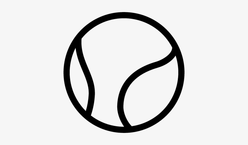 Big Tennis Ball Vector Tennis Ball Outline Png Transparent Png 400x400 Free Download On Nicepng