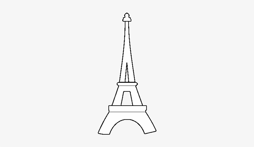 - Ing, Eiffel Tower To, Online - Eiffel Tower Colouring Pages Transparent PNG  - 600x470 - Free Download On NicePNG