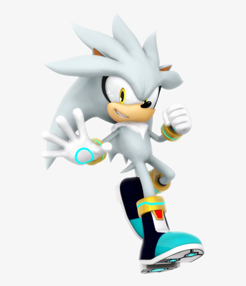 Silver The Hedgehog Png - Team Sonic Racing Silver