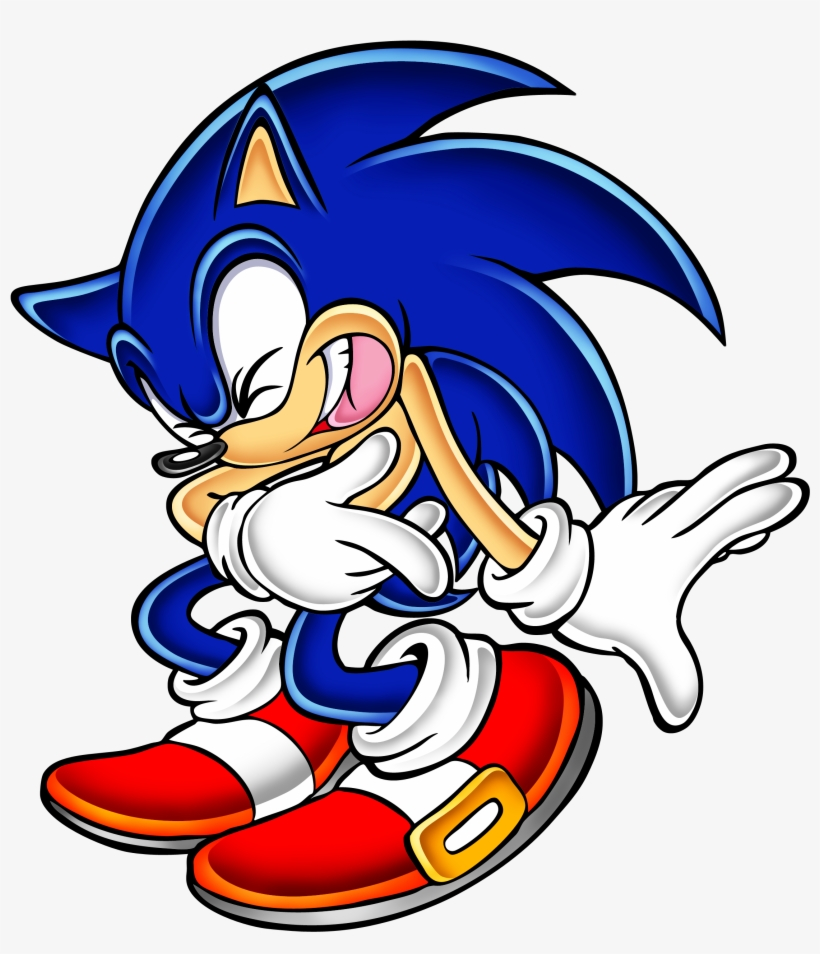 Drawing Alphabets Sonic The Hedgehog Png Download Sonic Adventure Official Art Transparent Png 937x1020 Free Download On Nicepng