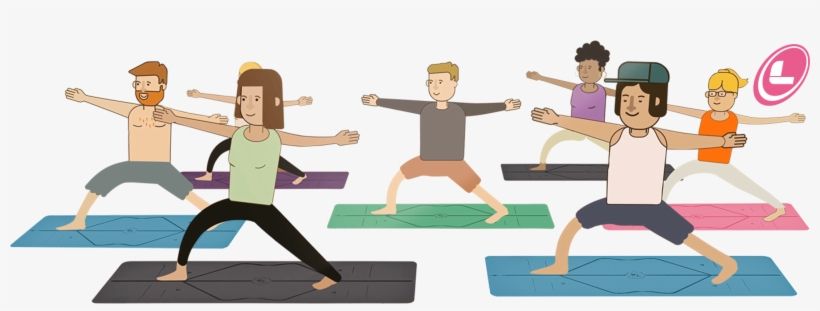 Liforme Introduced Their Truly Revolutionary Yoga Yoga Mat Clipart Transparent Png 2798x926 Free Download On Nicepng