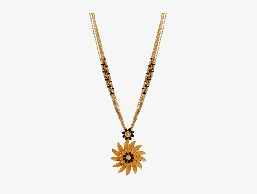 Sunflower Mangalsutra Designs In Gold Latest Mangalsutra