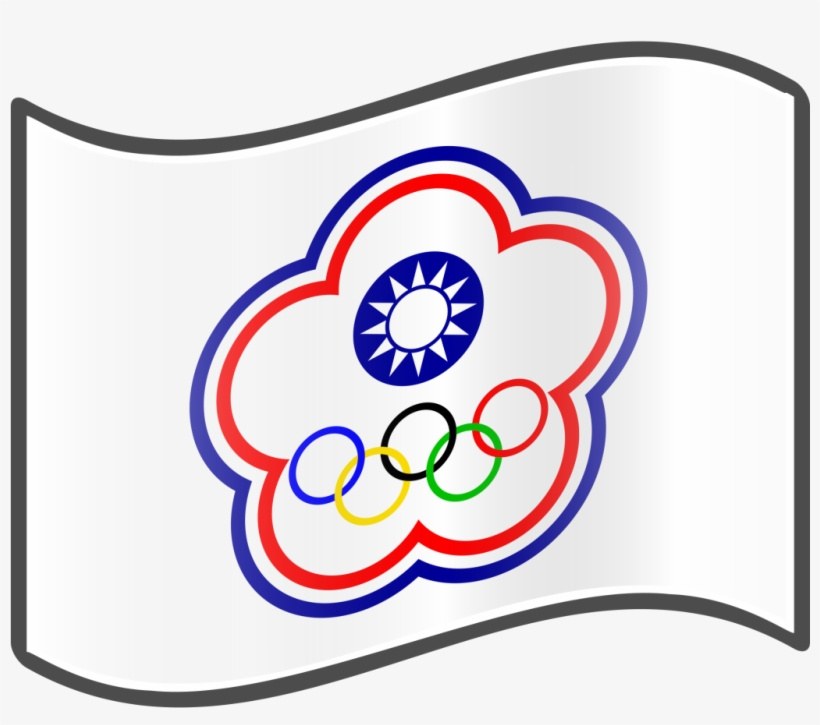 The Chinese Taipei Olympic Flag Olympic Games Transparent Png 1024x1024 Free Download On Nicepng
