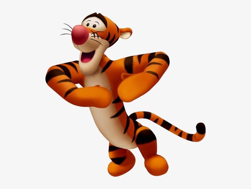 Tigger Kh Tigger Winnie Pooh 3d Transparent Png 540x577 Free